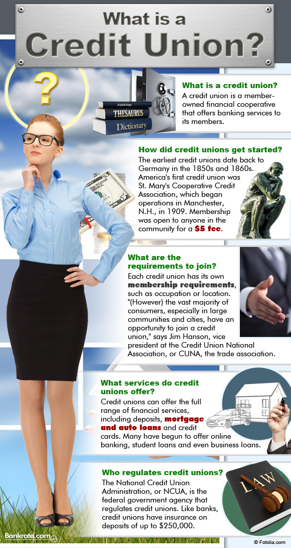 Infographic: What is a credit union?