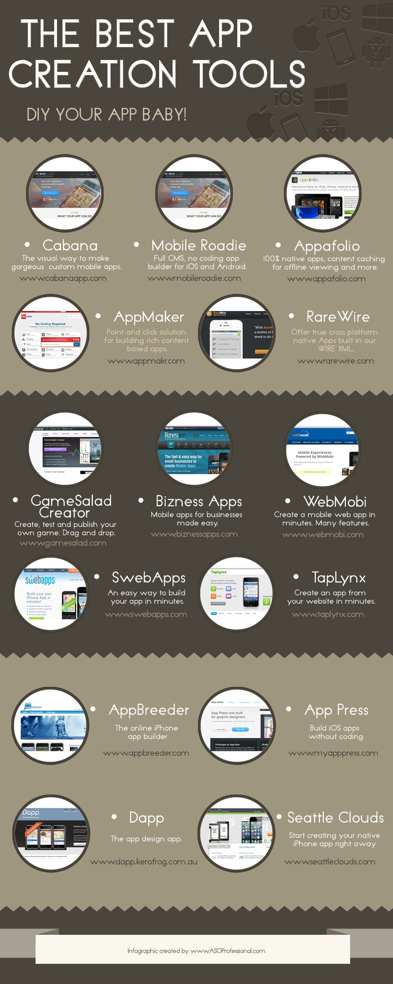 App Creation Tools