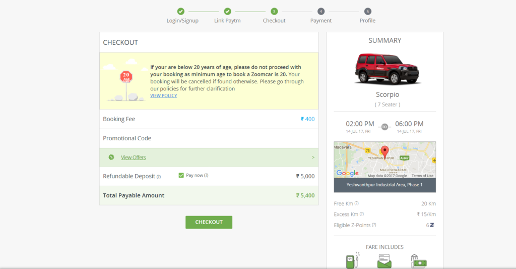 How to Book a Self-Drive Car through Zoomcar