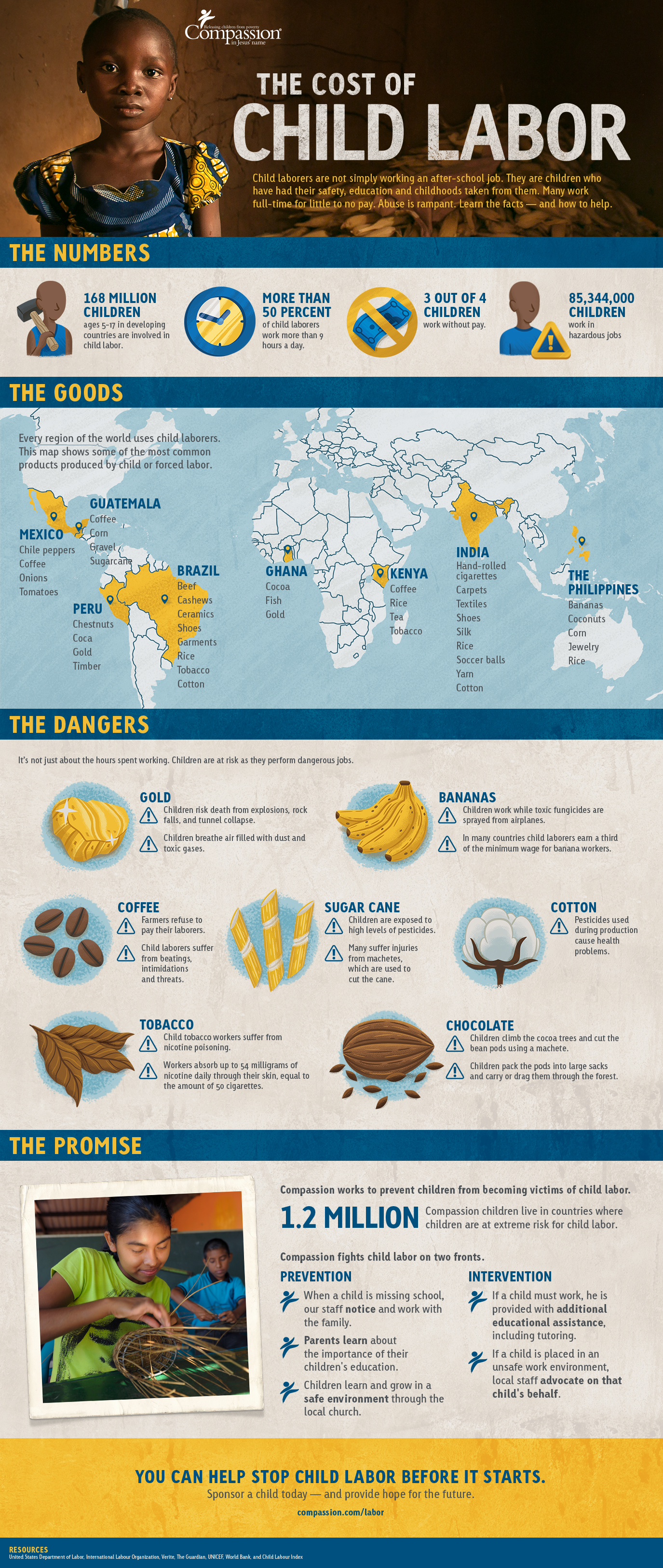 Infographic :The Cost of Child Labor